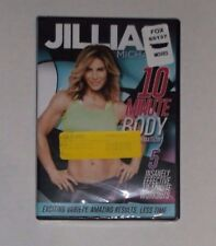 Jillian Micheals - 10 Minute Body Transformation (DVD, 2016) BRAND NEW, Exercise