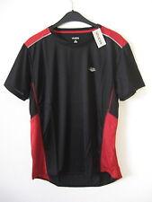 Herren Funktionsshirt  Laufshirt 100% Polyester Gr. XL - schwarz/ rot  Neu & OVP