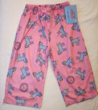 LIFE IS GOOD Horse Pony Pink PJs Pajama Lounge Sleep Pants NWT Girls Size 2 2T 3