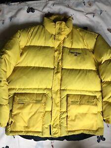 Ralph Lauren Polo Sport Puffer Down Jacket Coat Yellow XL