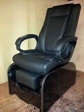 Shiatsu massage pedicure chair & footsie tub no plumbing at all