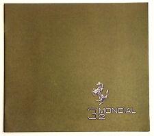 DEPLIANT BROCHURE FERRARI 3.2 MONDIAL U.S.A. VERSION - N. 403/85 - 3M/9/1988