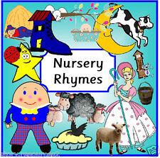 NURSERY RHYMES Teaching resources KS1 EYFS SEN CHILDMINDER Story / Singing sack