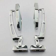 Chrome Blue Glass Mirrors For Honda CBR 600F4 600F4i 600RR 929RR 954RR 1000RR