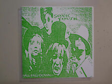 """SONIC YOUTH:All Fall Down-Euro. 7"""" EP Color Vinyl PCV,Peel Session 19-10-88"""