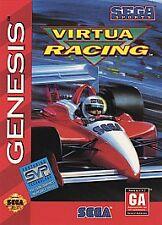 VIRTUA RACING --- SEGA GENESIS Complete CIB w/ Box, Manual