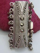 CIERRE CONECTOR 835 plata para Collar de perlas