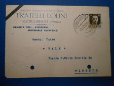 Cartolina Commerciale Radicondoli Si Firenze 1938
