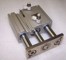 SMC MGQM32-50 Linear Compact Guided Cylinder 32mm Diameter, 50mm Stroke