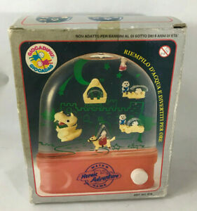WATER GAME HEROIC ADVENTURE 80'S vintage GIOCADAG like Tomy NEW IN BOX NUOVO