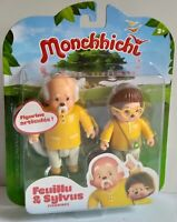 Monchhichi Feuillu & Sylvus 2-Figure Pack Silverlit