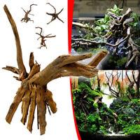 Aquarium Tree Trunk Driftwood Fish Tank Reptile Plant Wooden Ornament US
