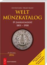 SCHÖN, Günter & KAHNT, Helmut: WELTMÜNZKATALOG 19. JAHRHUNDERT, 17. Auflage 2016