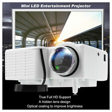 Mini Portable Home Theater LED Multimedia Projector HD 1080P USB/VGA/AV/ATV/TF