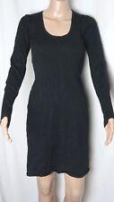 Ladies GLASSONS Black Knit Dress Size 10 ~ MBC
