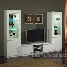 Romeno Modern Italian TV Unit - White RRP £295