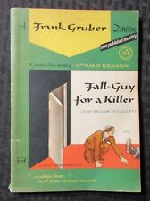 1942 FALL GUY FOR A KILLER Frank Gruber VG 4.0 Jonathan Press #76 Paperback