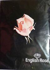 "ENGLISH Rose Taglia 10 1/2"" -11"" vintage RHT Calze in Nylon per 35/36"" Gamba"