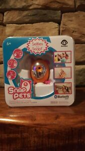 WOWWEE SNAP PETS Portable Bluetooth Camera Orange NEW IN BOX!