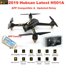 Hubsan X4 H501A Wifi APP FPV Drone 5.8G 1080P Quadcopter w/Brushless GPS+Relay