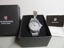 Victorinox Swiss Army Original Quartz Gray Men's Watch 241515 -New With Tags