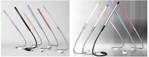 New Flexible USB 10 LED Light Lamp Portable Night Reading Lamp Flexible Stick UK