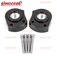 "T6 Billet CNC 1"" Handlebar Risers Spacer Kit For Kawasaki Ninja ZX-14 ZZR 1400"