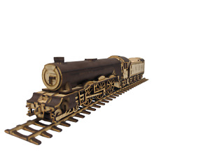 3D Wooden Puzzle - Craft Model Kit for Adults and Kids - Flying Scotsman