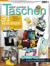 Patchwork Magazin SONDERHEFT 15 Taschen Nähen Stricken Häkeln Zeitschriften