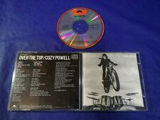 Cozy Powell Over The Top Japan 1st CD 1987 P33P 25033