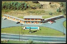 1950s Aerial View Esquire Motel, Routes 12 & 110, Worcester, Massachusetts