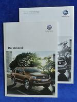 VW Amarok - Prospekt + Preisliste Brochure 01.2013
