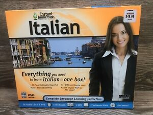 Speak Italian With Instant Immersion Complete Language Learning Collection