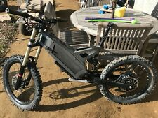 Stealth Fighter F-37 Electric Bicycle complete for build or parts with battery