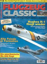 FLUGZEUG CLASSIC JAN 03 BLOHM & VOSS Bv222 WIKING_HUGHES H-1_Fw56_JUNKERS F 13