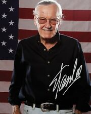 STAN LEE #2 10x8 PRE PRINTED (SIGNED) LAB QUALITY PHOTO - FREE DELIVERY