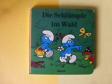 Die Schlümpfe im Wald - Favorit-Papp Bilderbuch 1983