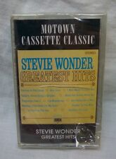 STEVIE WONDER Greatest Hits Cassette TAPE Motown  NEW