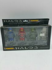 Halo 3  Kubrick   Master Chief Collectors  4 figure set  Clear  Gentle Giant j5