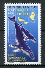 Wallis & Futuna 2017 MNH Whales Protection World Environment Day 1v Set Stamps