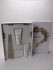 ISSEY MIYAKE LEAU DISSEY GIFT SET WITH 50ML EDT, 50ML BODY LOTION & SHOWER GEL