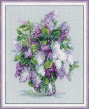 Counted Cross Stitch Kit RIOLIS 1447 - Gentle Lilac