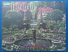 jigsaw puzzle 1000 pc Guild Fountain and Garden in Bloom