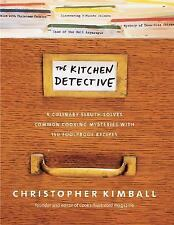 "BRAND NEW* ""The Kitchen Detective~Culinary Sleuth Solves Cooking Mysteries"" HCDJ"