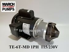 March pump TE-6T-MD 1 Phase 115/230V TEFC 0153-0002-0200