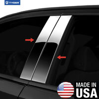 TYGER For 03-06 Toyota Tundra Double Cab 4PC Stainless Steel Pillar Post Trim