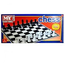 Plastic Chess Board Game Toys Children Family Traditional
