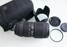 Sigma ex 70-200 mm f/2.8 II macro HSM af para Nikon