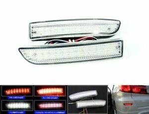 2x Clear Lens 39 SMD LED Rear Bumper Brake Light Lamps For 2006-2012 Toyota Rav4