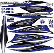 2002 YAMAHA 1200XLT BLUE DECAL KIT 1200 XLT GRAPHICS WAVERUNNER